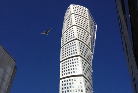 Turning Torso bird