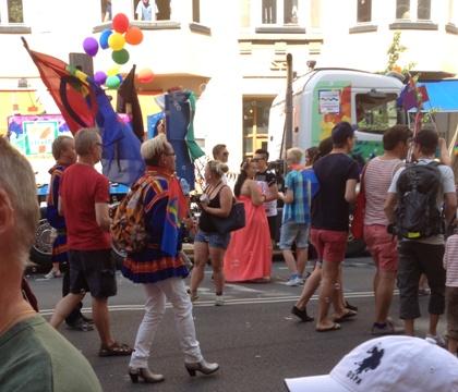 paraden igång